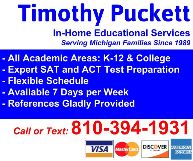 SAT & ACT Prep - TimothyPuckett com